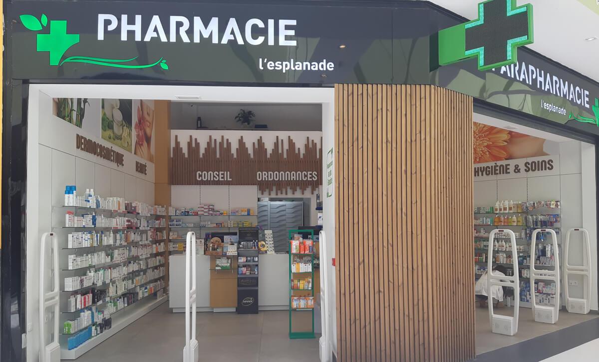 aménagement Pharmacie à Agadir